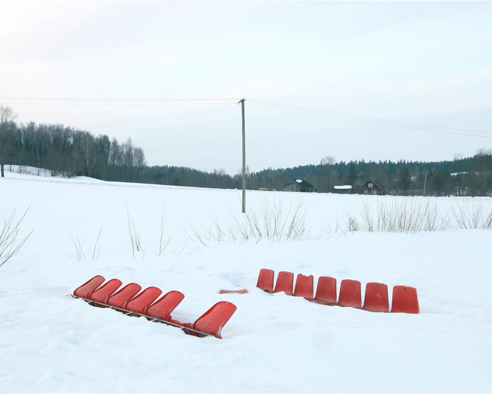 Vastse Roosa Latvian-Estonian Border March 2011