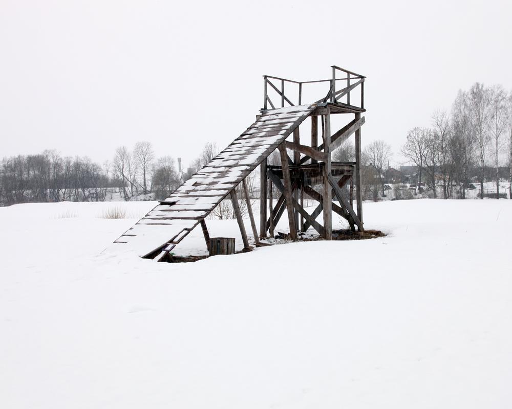Nereta Latvia-Lithuania Border March 2011