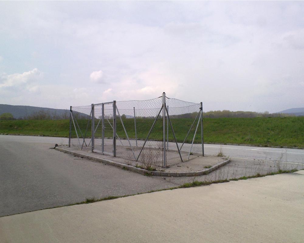 Zahorska Ves Austrian-Slovakian Border April 2010