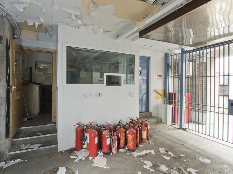 Site-384 Prison Gate