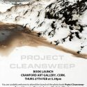 Launch of my 'Project Cleansweep' book at the Crawford Art Gallery-Feb 2020.